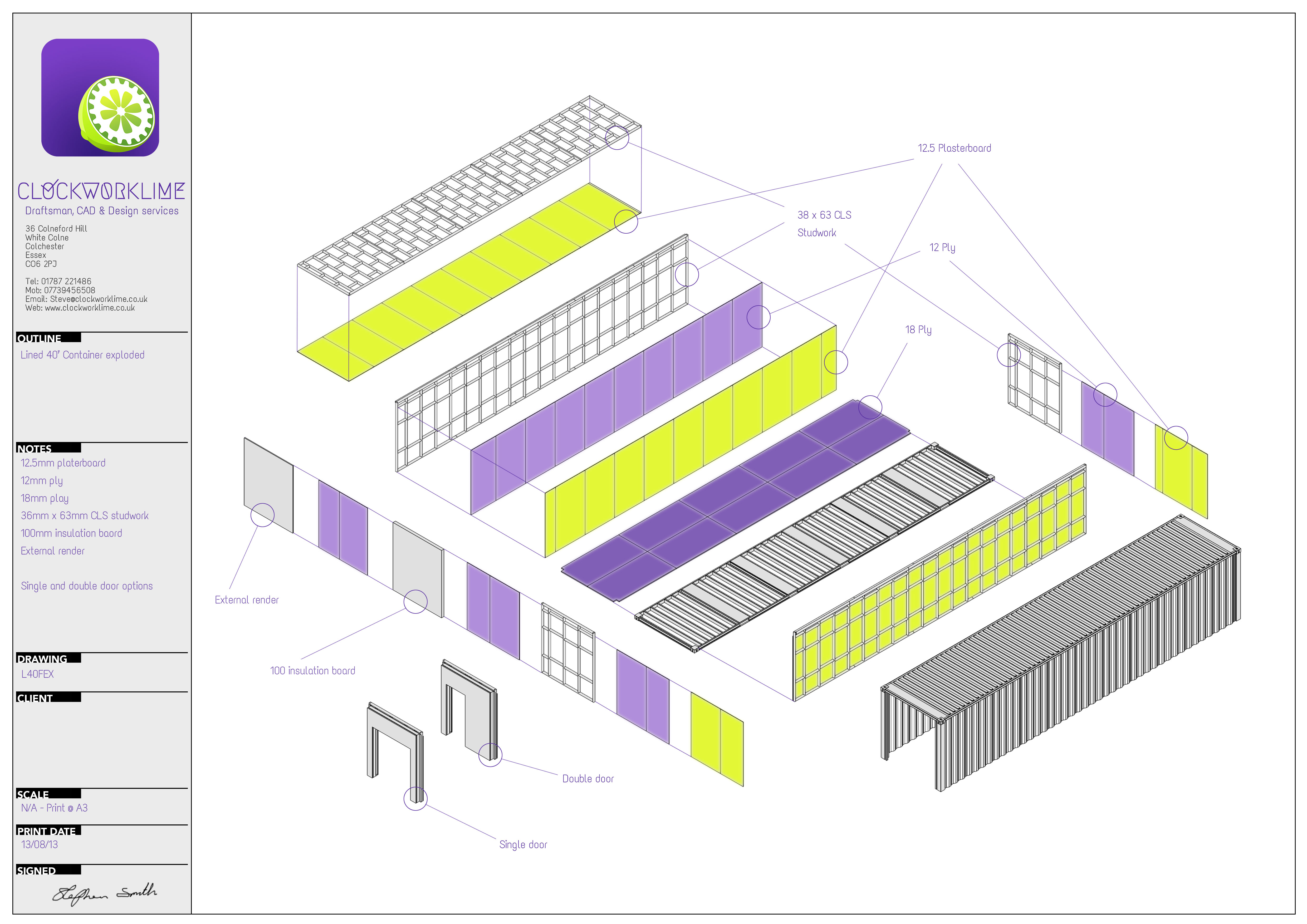 Shipping container drawing joy studio design gallery for Decor 718 container
