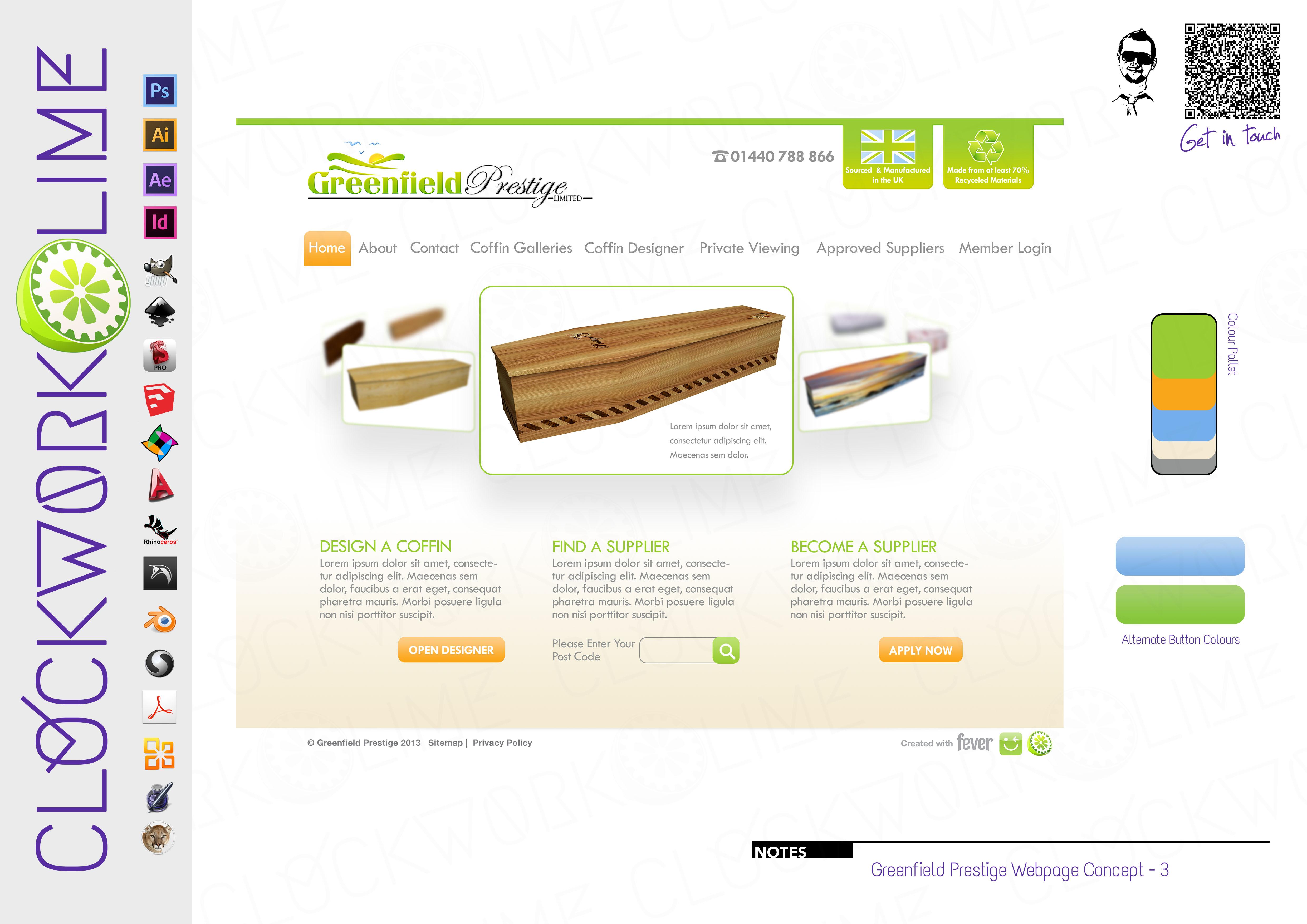 Greenfield Prestige Web Design | Architectural Design and