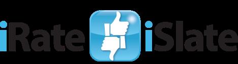 iRateiSlate Block Colour Logo