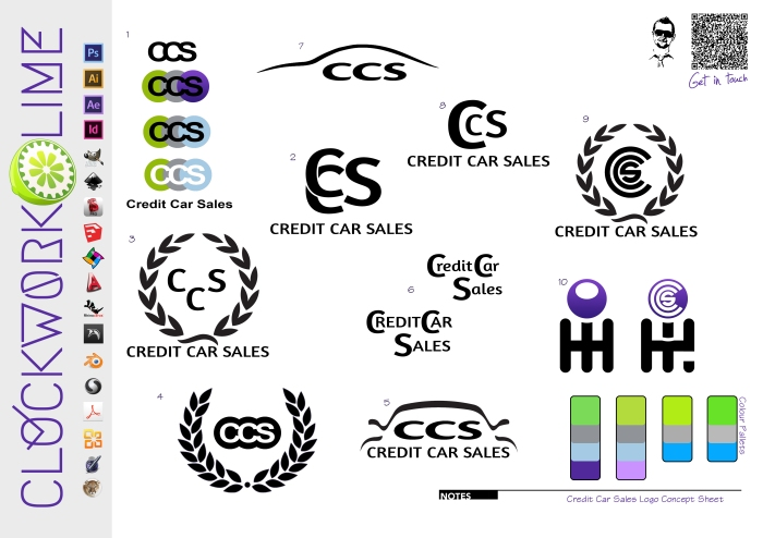 CCS Logo Concept Sheet